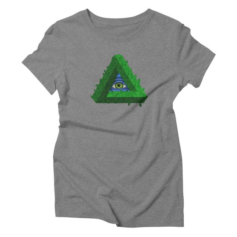 Penroseye Women's Triblend T-Shirt by JesFortner