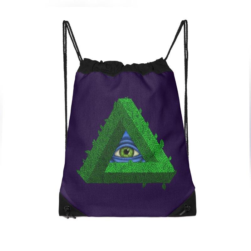 Penroseye Accessories Drawstring Bag Bag by JesFortner