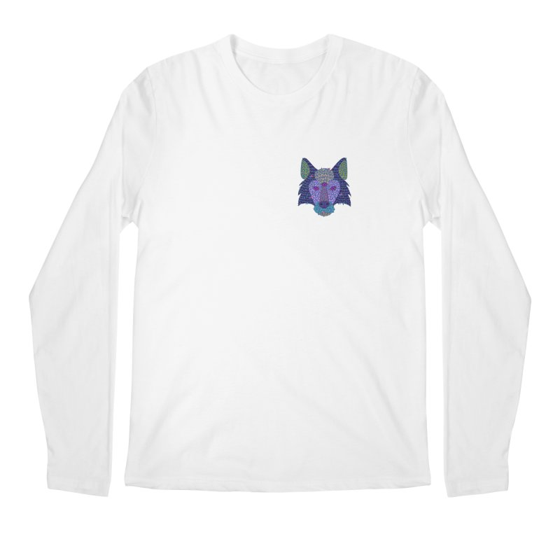 Wolf Triclops Men's Regular Longsleeve T-Shirt by JesFortner