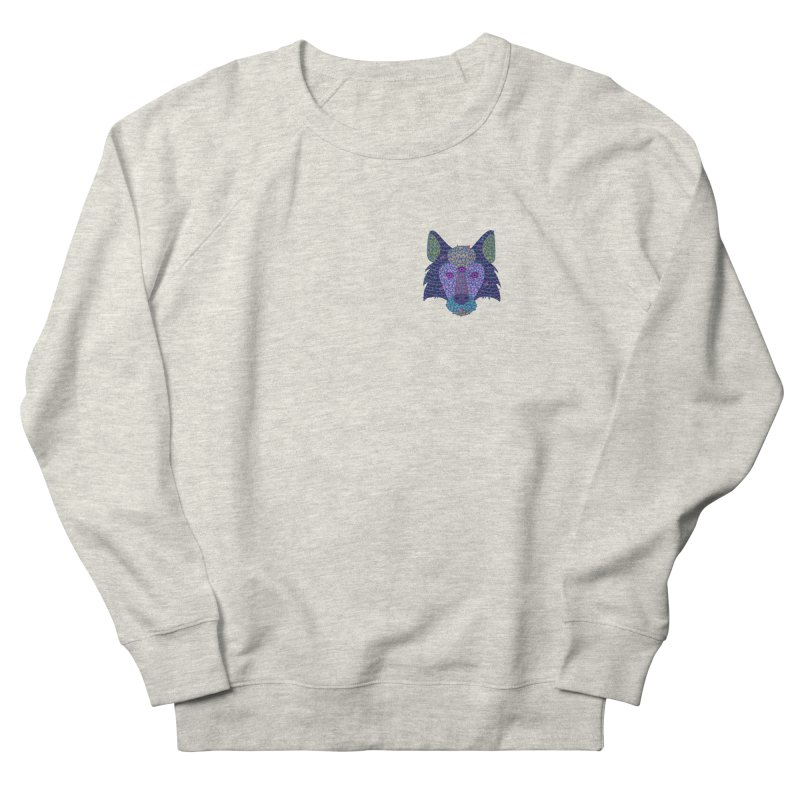 Wolf Triclops Women's French Terry Sweatshirt by JesFortner