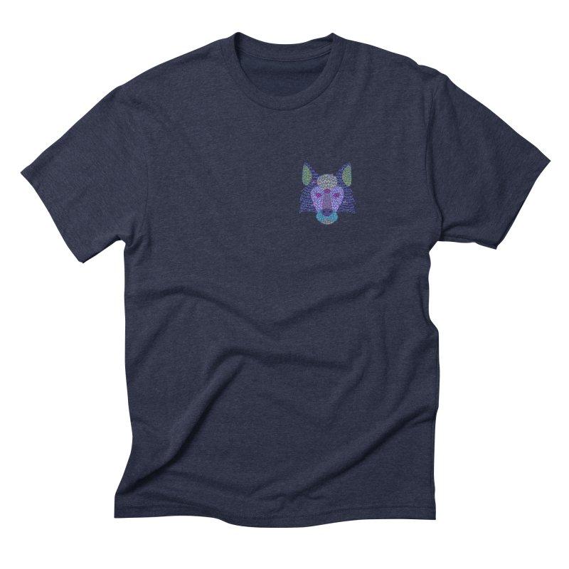 Wolf Triclops Men's Triblend T-Shirt by JesFortner