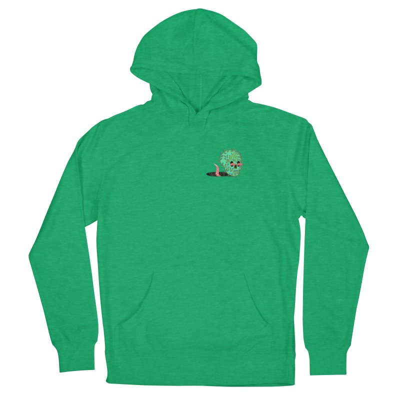 Came Up Snake Eyes Women's French Terry Pullover Hoody by JesFortner