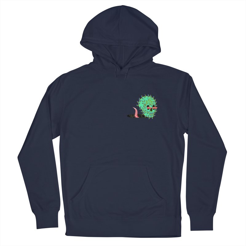 Came Up Snake Eyes Men's French Terry Pullover Hoody by JesFortner