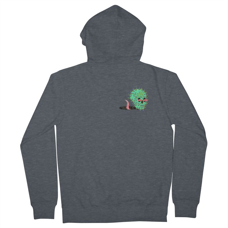 Came Up Snake Eyes Women's Zip-Up Hoody by JesFortner