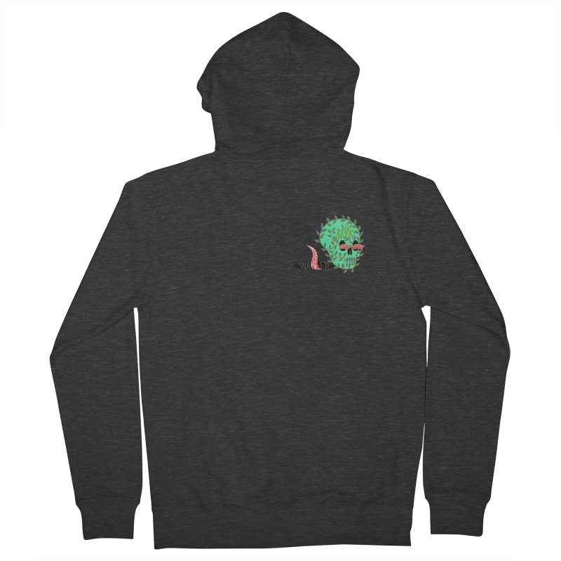 Came Up Snake Eyes Men's Zip-Up Hoody by JesFortner