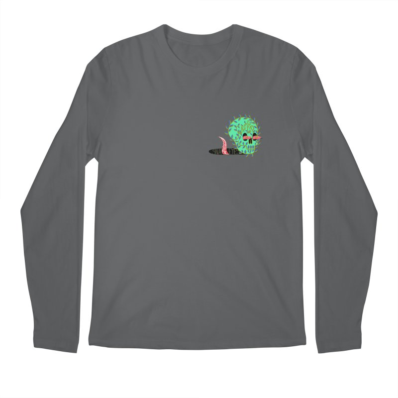 Came Up Snake Eyes Men's Regular Longsleeve T-Shirt by JesFortner