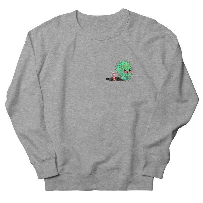 Came Up Snake Eyes Men's French Terry Sweatshirt by JesFortner