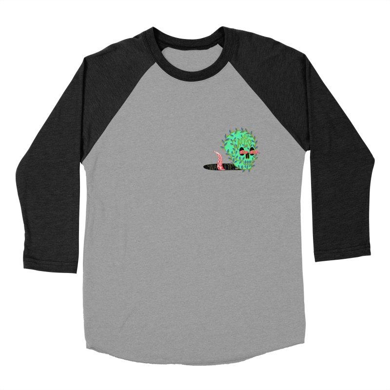 Came Up Snake Eyes Men's Baseball Triblend T-Shirt by JesFortner