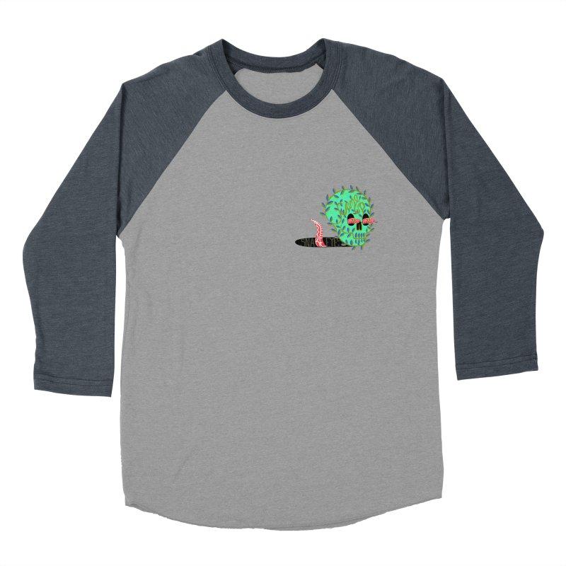 Came Up Snake Eyes Men's Baseball Triblend Longsleeve T-Shirt by JesFortner