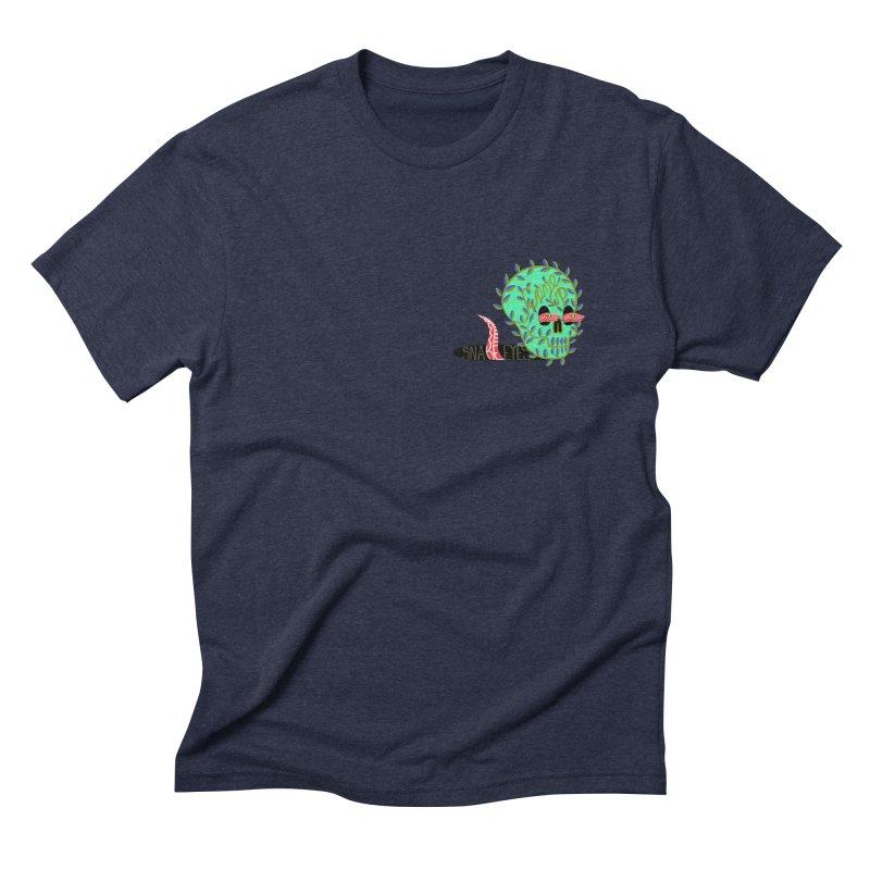 Came Up Snake Eyes Men's Triblend T-shirt by JesFortner