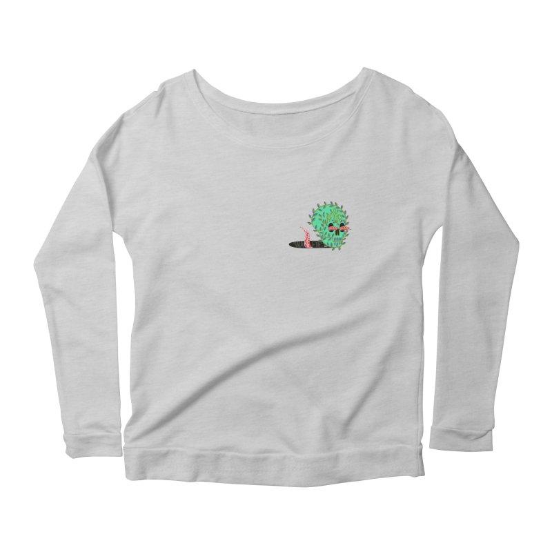 Came Up Snake Eyes Women's Scoop Neck Longsleeve T-Shirt by JesFortner