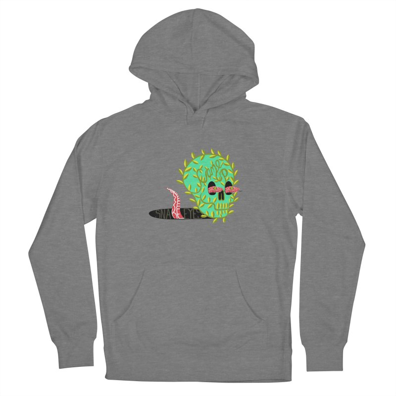Came Up Snakes Eyes Full Women's French Terry Pullover Hoody by JesFortner