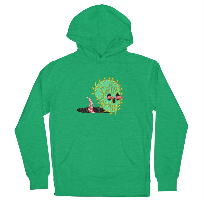 Came Up Snakes Eyes Full Men's French Terry Pullover Hoody by JesFortner