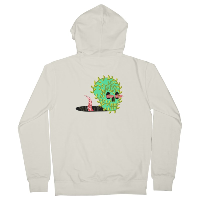 Came Up Snakes Eyes Full Men's Zip-Up Hoody by JesFortner