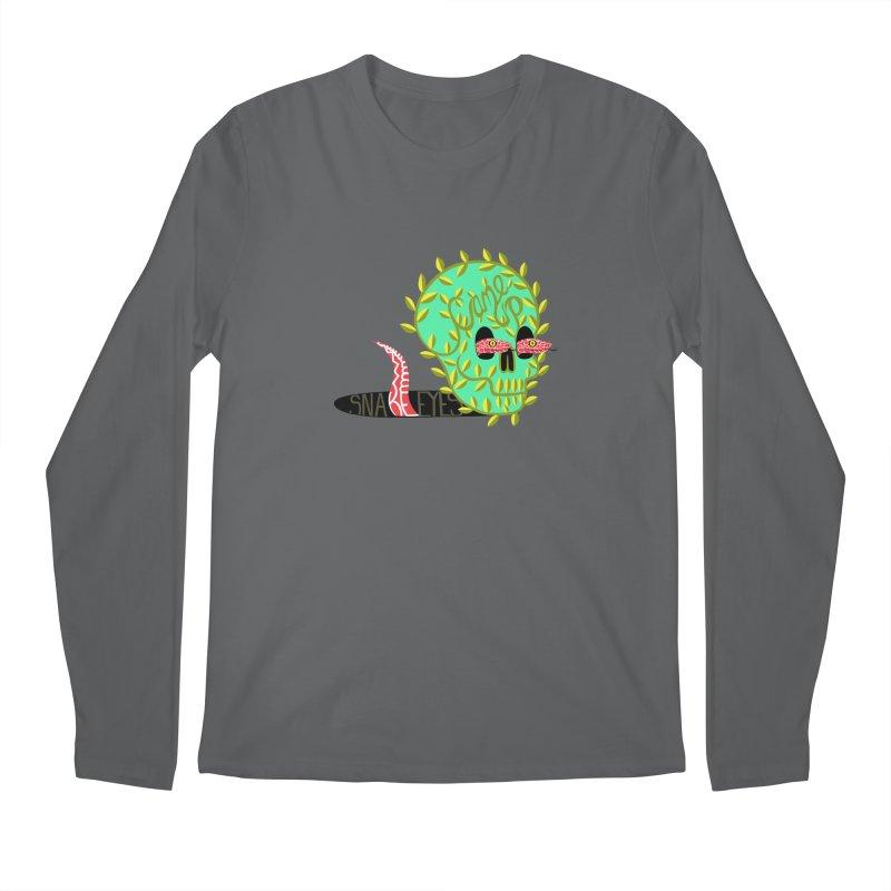 Came Up Snakes Eyes Full Men's Longsleeve T-Shirt by JesFortner