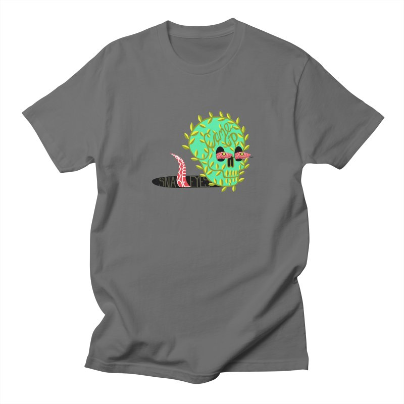 Came Up Snakes Eyes Full Men's T-Shirt by JesFortner