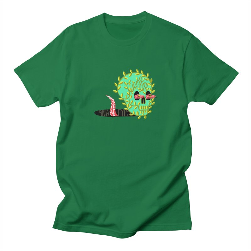 Came Up Snakes Eyes Full Men's Regular T-Shirt by JesFortner