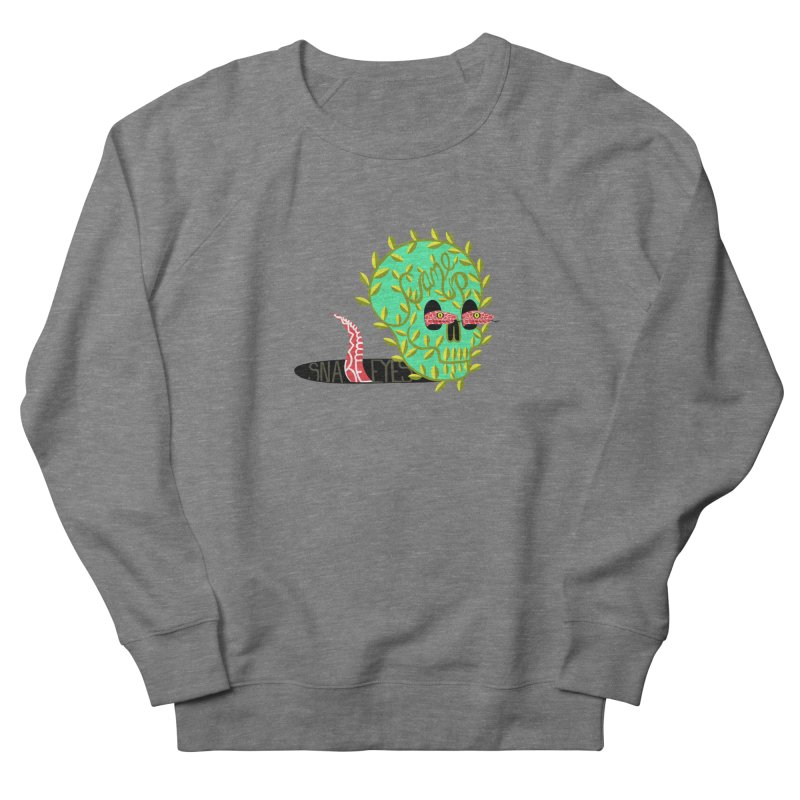 Came Up Snakes Eyes Full Women's French Terry Sweatshirt by JesFortner