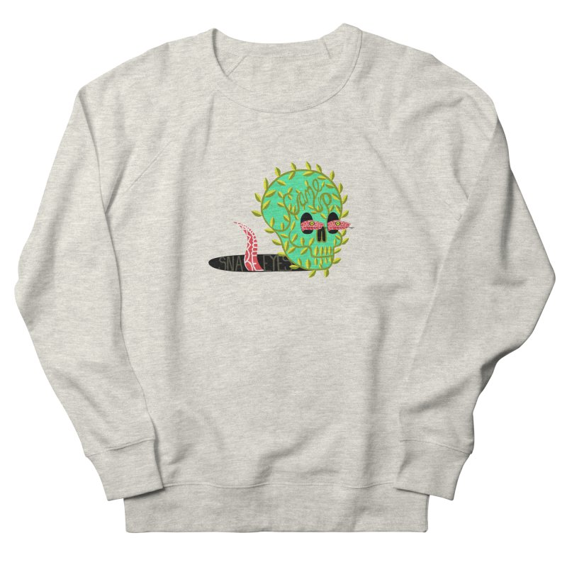 Came Up Snakes Eyes Full Men's French Terry Sweatshirt by JesFortner