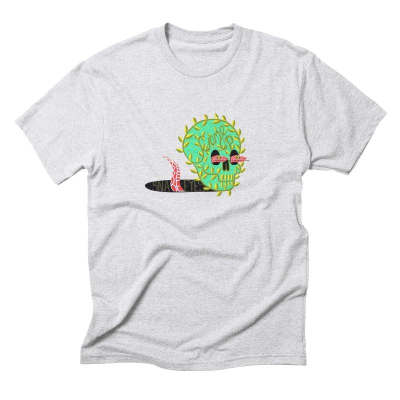 Came Up Snakes Eyes Full Men's Triblend T-Shirt by JesFortner