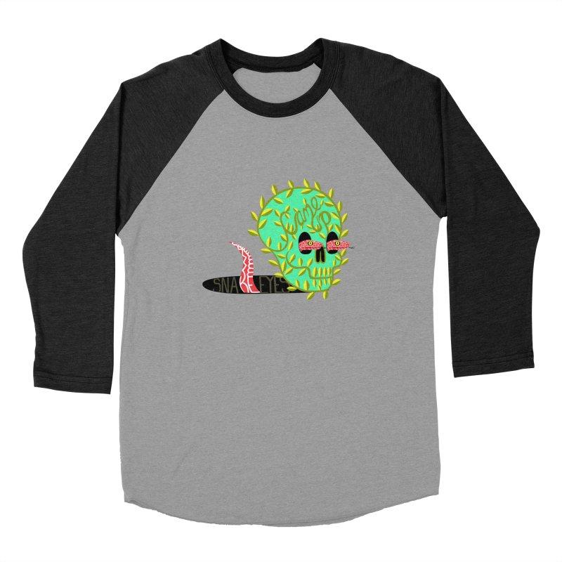 Came Up Snakes Eyes Full Women's Baseball Triblend T-Shirt by JesFortner