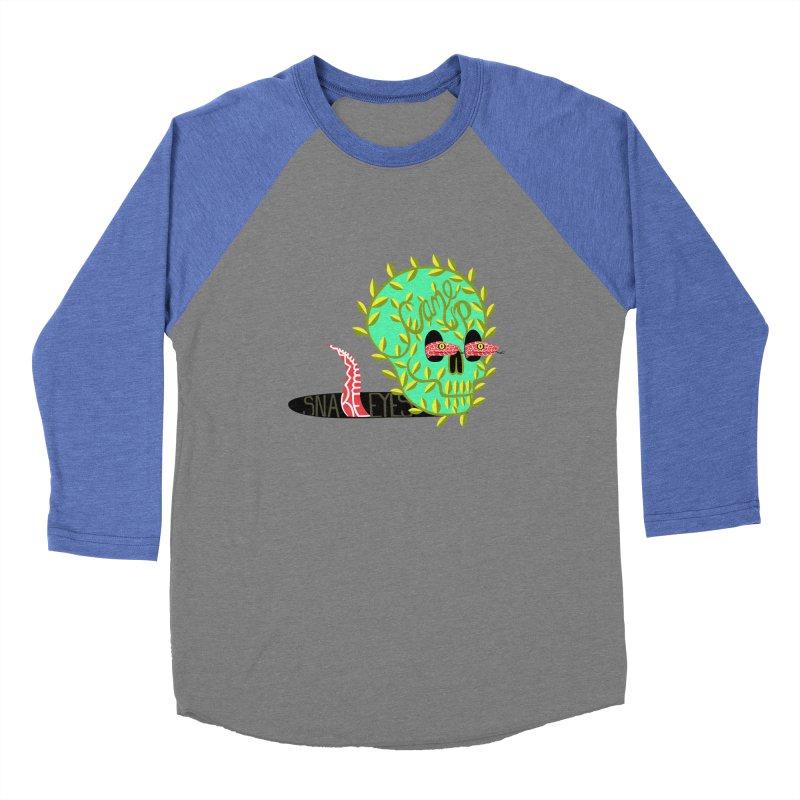 Came Up Snakes Eyes Full Men's Baseball Triblend T-Shirt by JesFortner