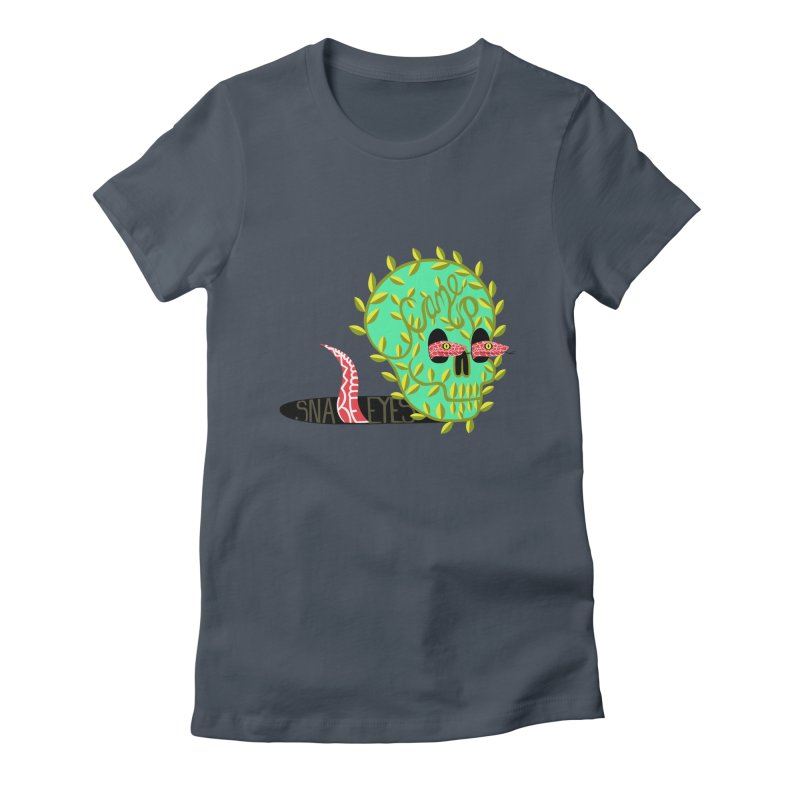 Came Up Snakes Eyes Full Women's Fitted T-Shirt by JesFortner