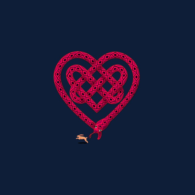 Knotted Heart by JesFortner