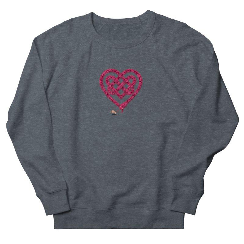 Knotted Heart Women's Sweatshirt by JesFortner