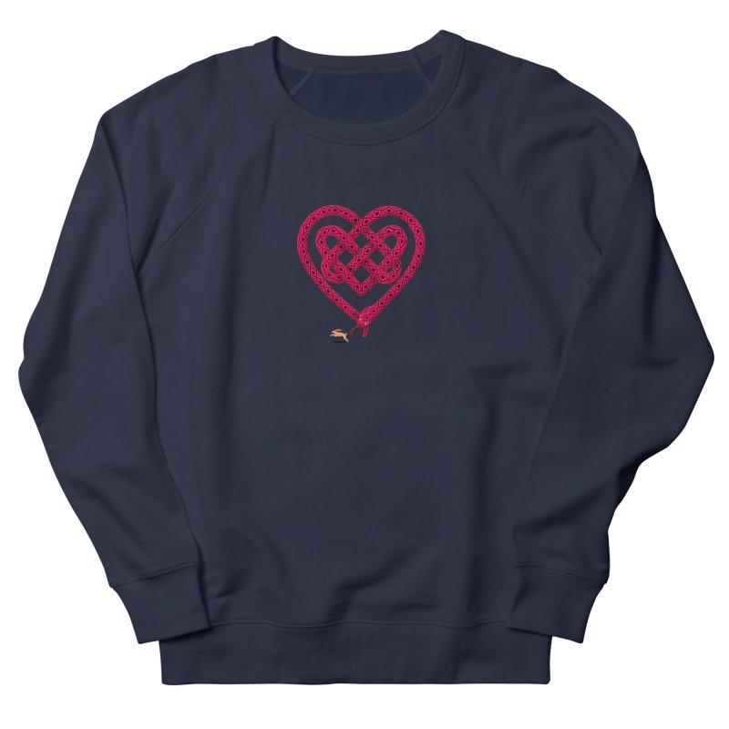 Knotted Heart Men's Sweatshirt by JesFortner