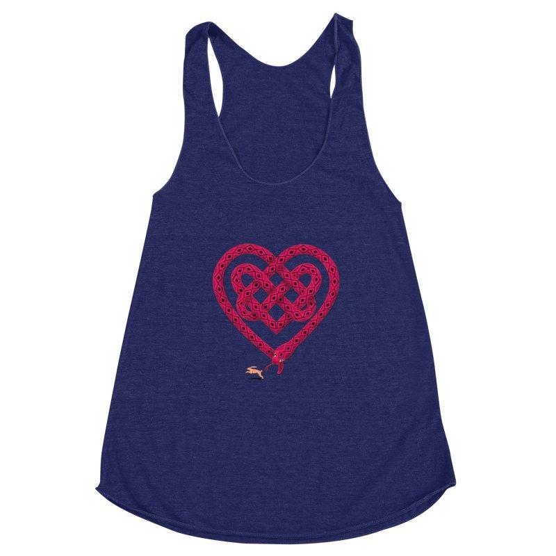 Knotted Heart Women's Tank by JesFortner