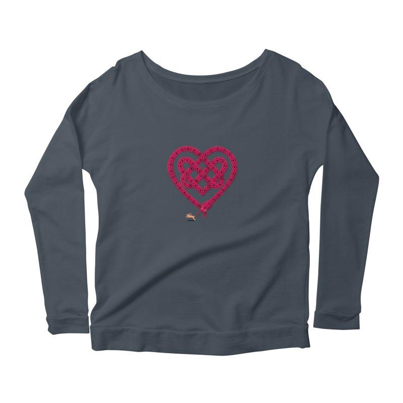 Knotted Heart Women's  by JesFortner
