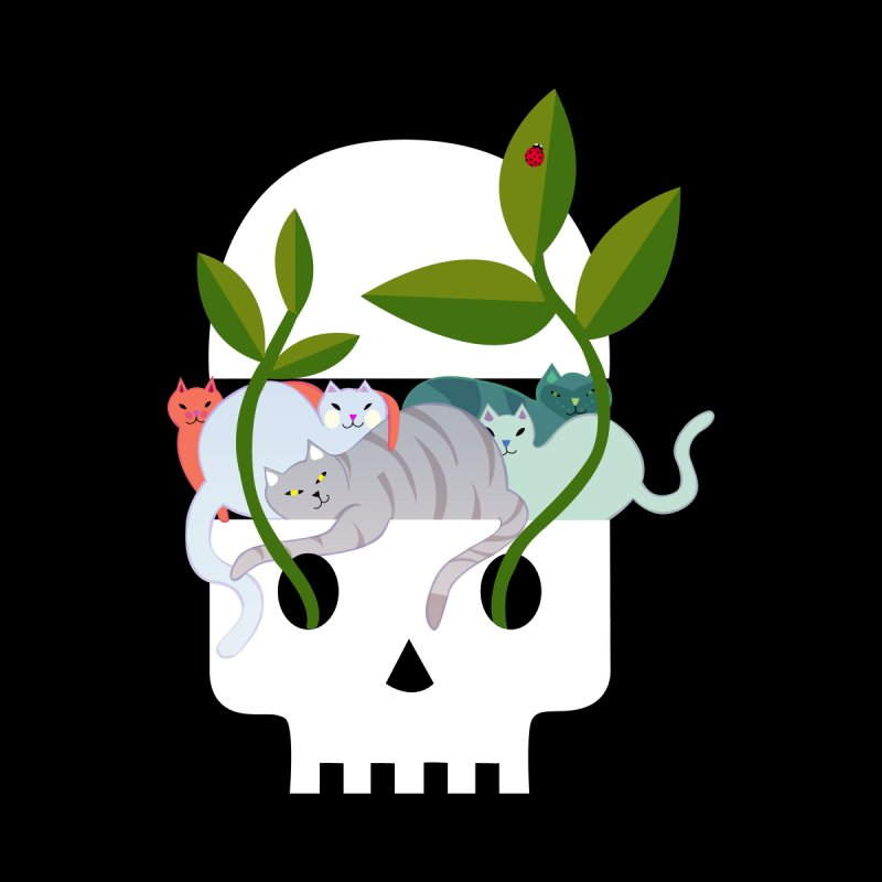 Skull Cats None  by JesFortner