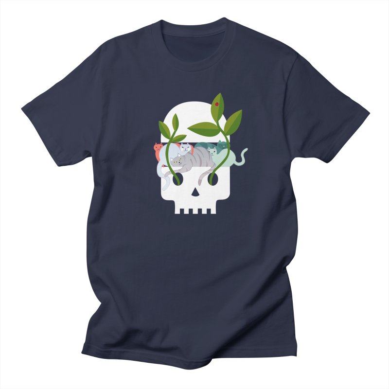 Skull Cats Women's Regular Unisex T-Shirt by JesFortner