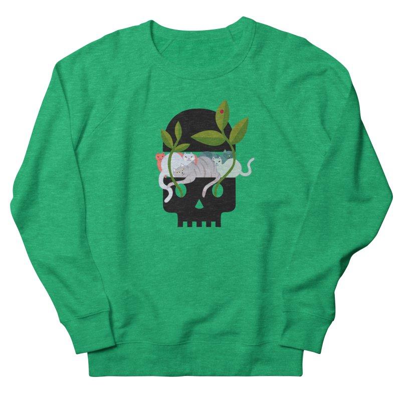 Skull Cats Black Women's Sweatshirt by JesFortner