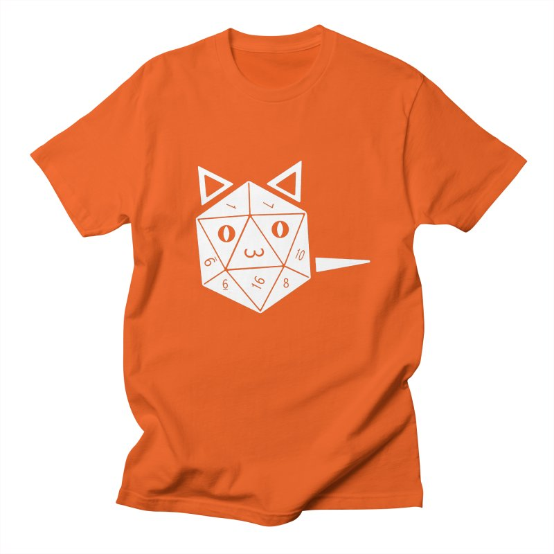 D20 Cat Women's Regular Unisex T-Shirt by n3kogami prints