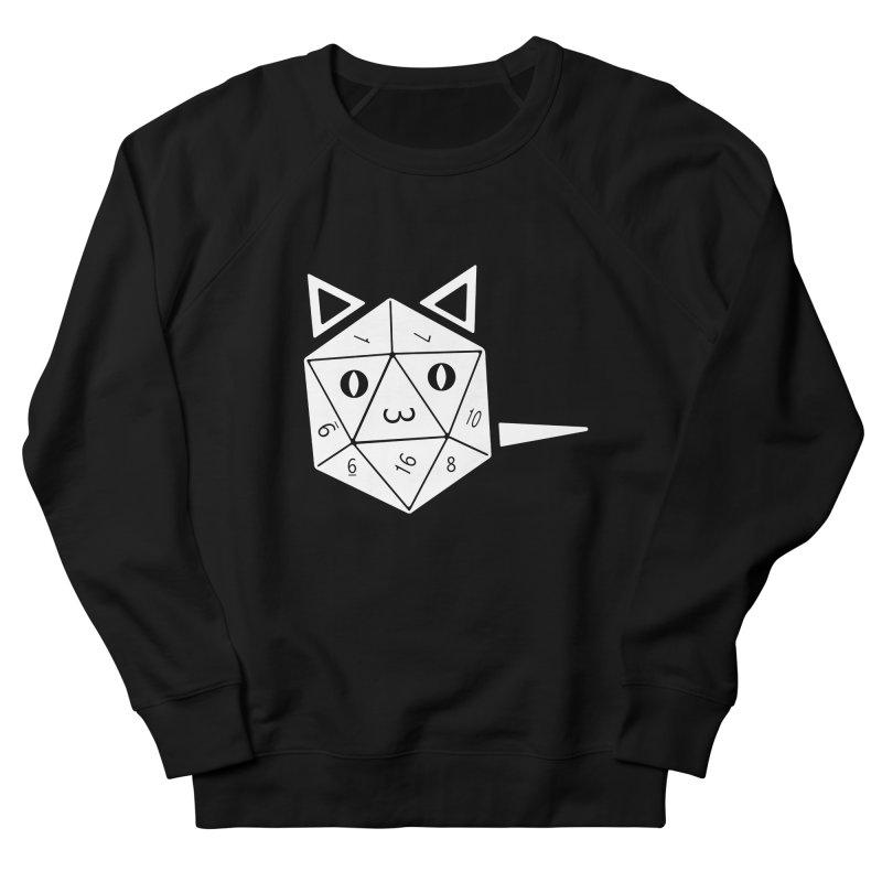 D20 Cat Women's French Terry Sweatshirt by n3kogami prints