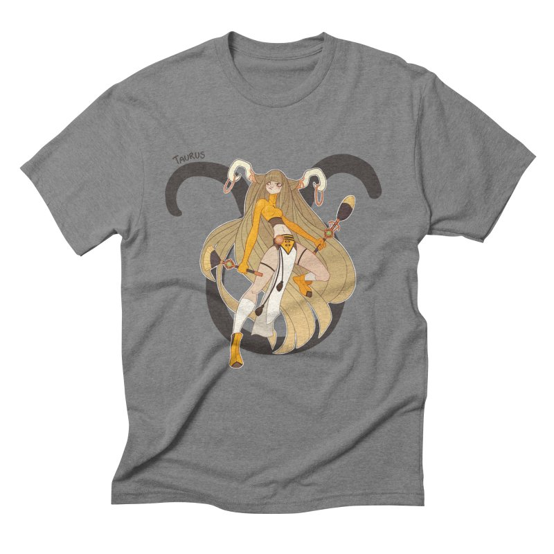 Taurus Men's Triblend T-shirt by Jessica Madorran's Artist Shop