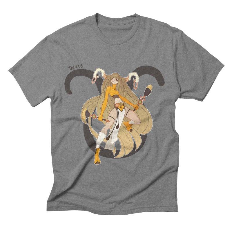 Taurus Men's Triblend T-shirt by Jessica Madorran's Artist Shop