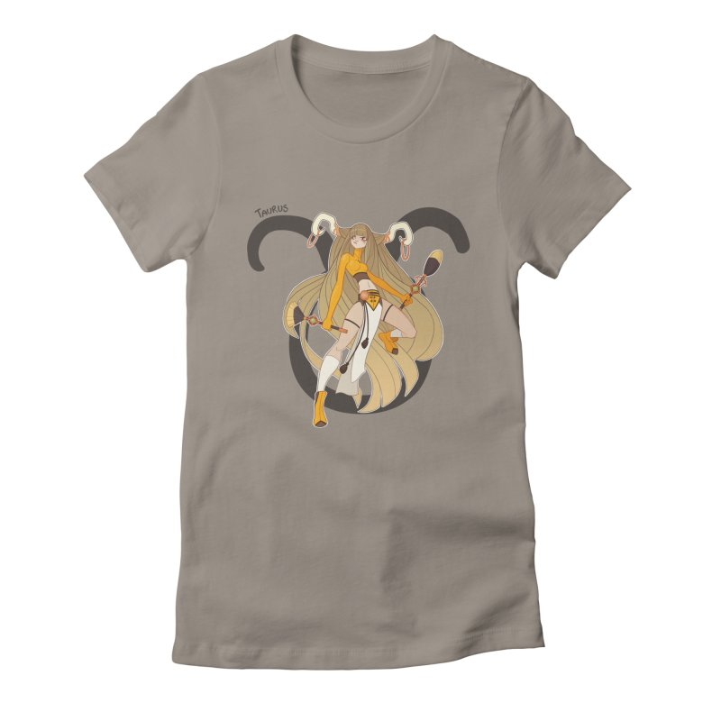 Taurus Women's Fitted T-Shirt by Jessica Madorran's Artist Shop