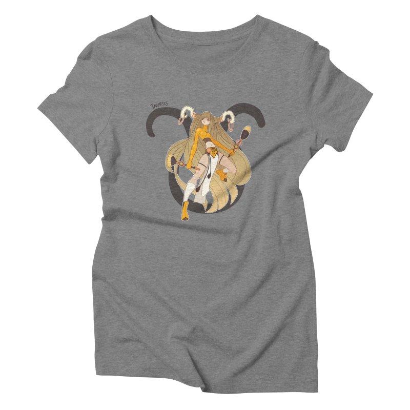 Taurus Women's Triblend T-shirt by Jessica Madorran's Artist Shop