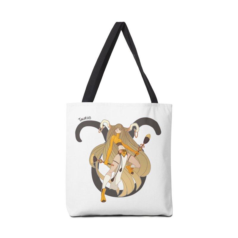 Taurus Accessories Bag by Jessica Madorran's Artist Shop