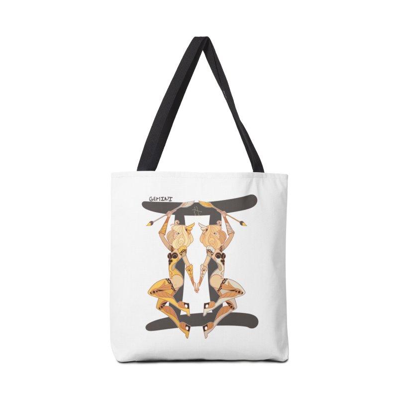 Gemini Accessories Bag by Jessica Madorran's Artist Shop