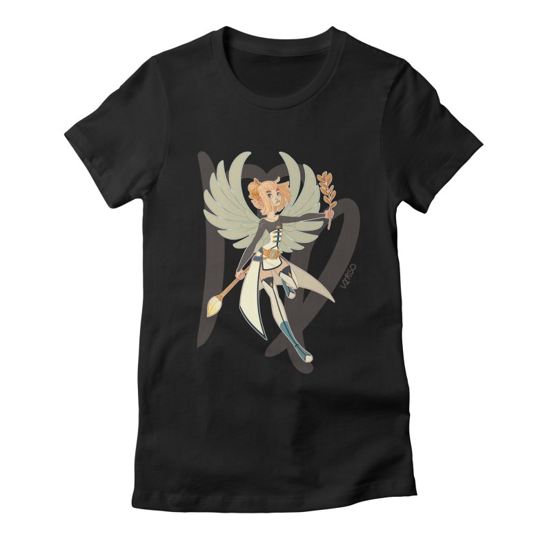 Virgo Women's Fitted T-Shirt by Jessica Madorran's Artist Shop