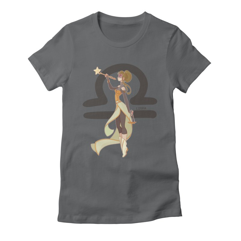 Libra Women's Fitted T-Shirt by Jessica Madorran's Artist Shop