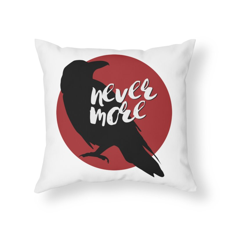 Nevermore in Throw Pillow by Jessica's Shop