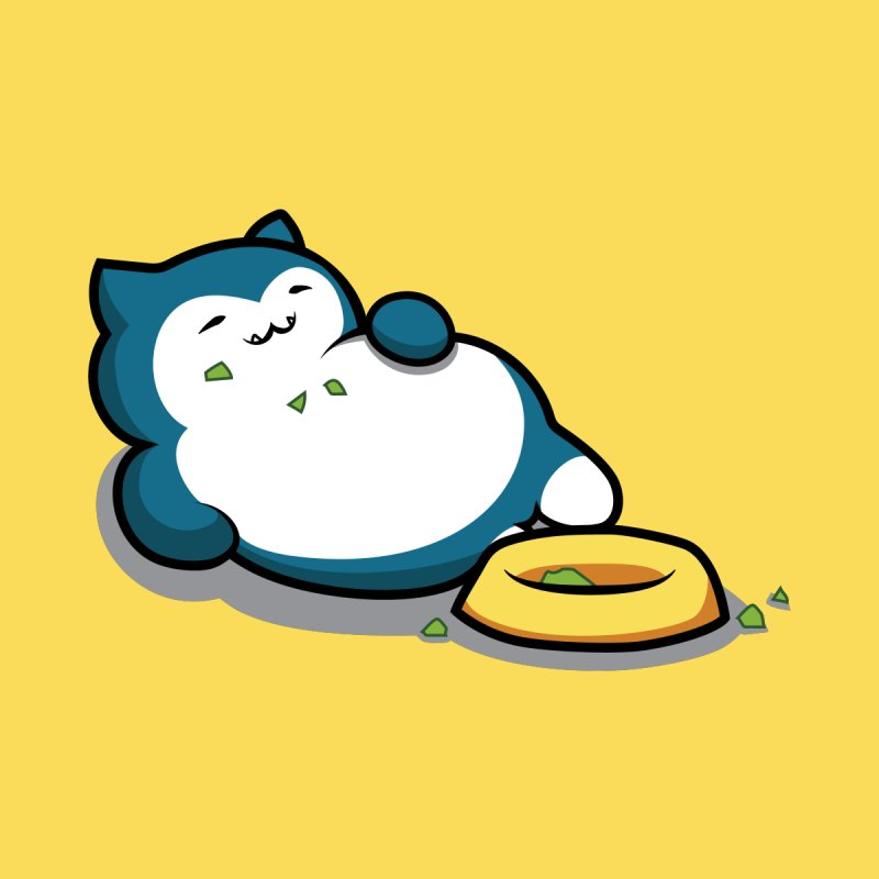 Wake Up Snorlax by Jessica Sinclair