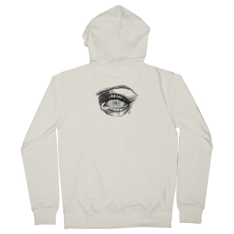 """spell"" Men's French Terry Zip-Up Hoody by J. Lavallee's Artist Shop"