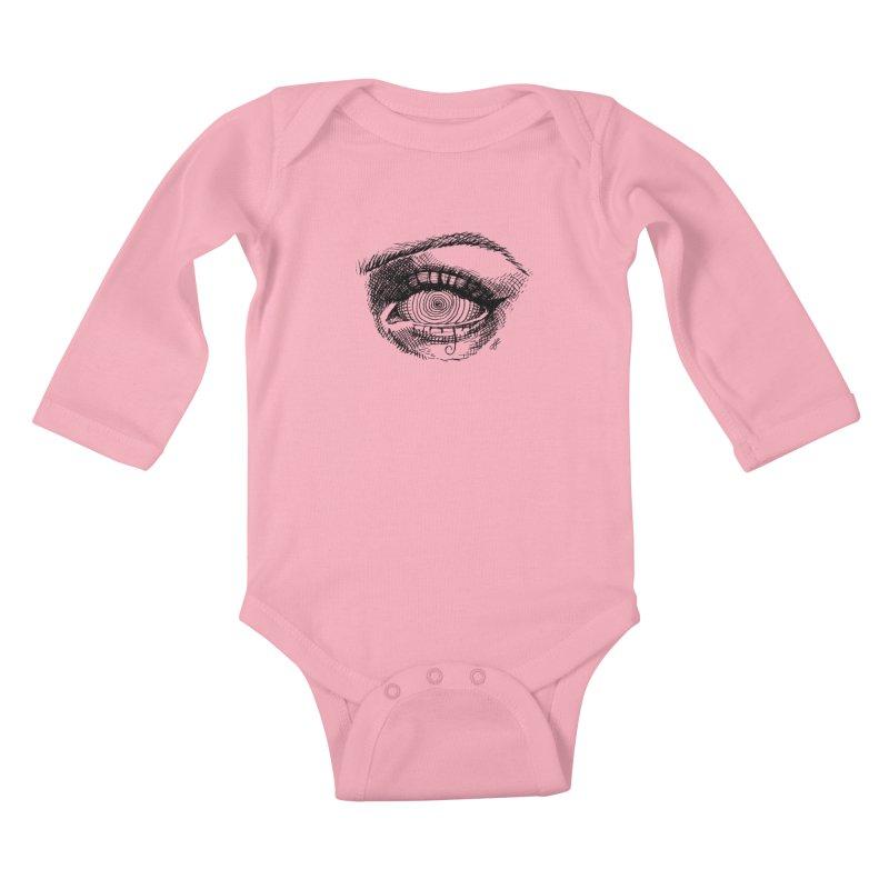 """""""spell"""" Kids Baby Longsleeve Bodysuit by J. Lavallee's Artist Shop"""