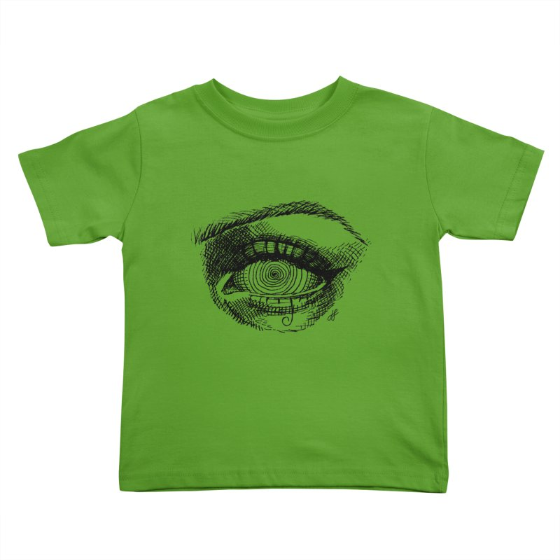"""spell"" Kids Toddler T-Shirt by J. Lavallee's Artist Shop"